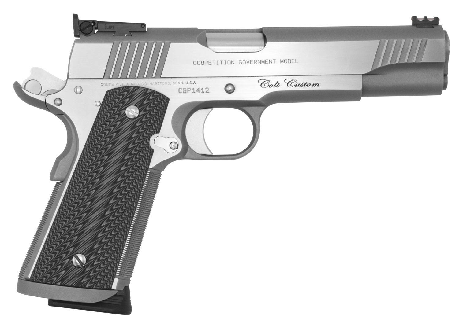 COLT O1070CS CUSTOM COMPET 45 FO 5IN STS