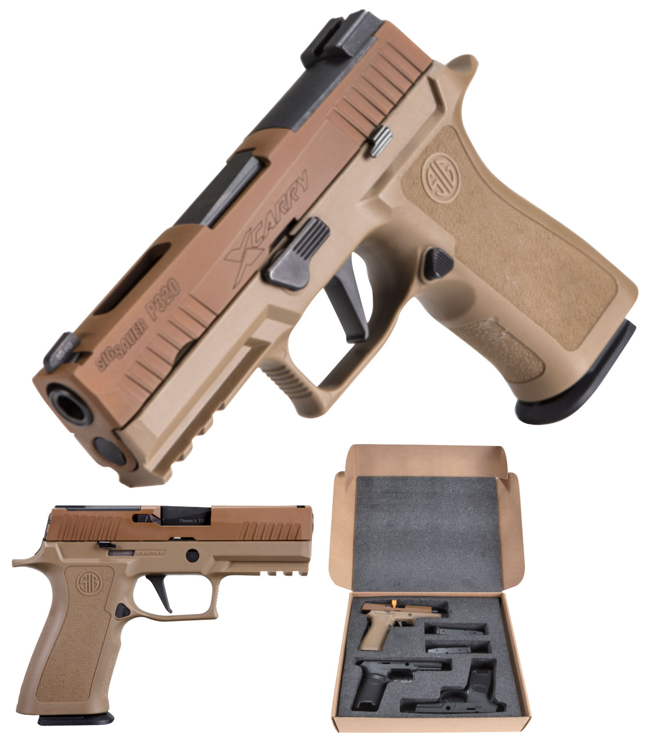 Sig Sauer 320XCA9MHPCO P320 MHP *Exclusive* Double 9mm Luger 3.9
