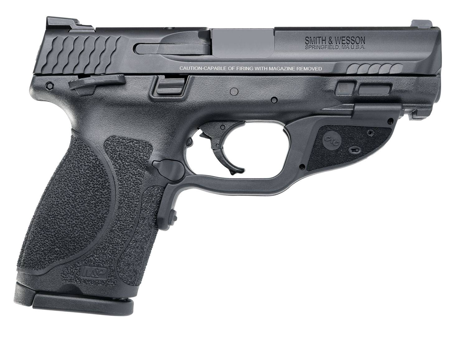 S&W M&P40C 12416 40 4IN TS M2.0 CT GRN 13R