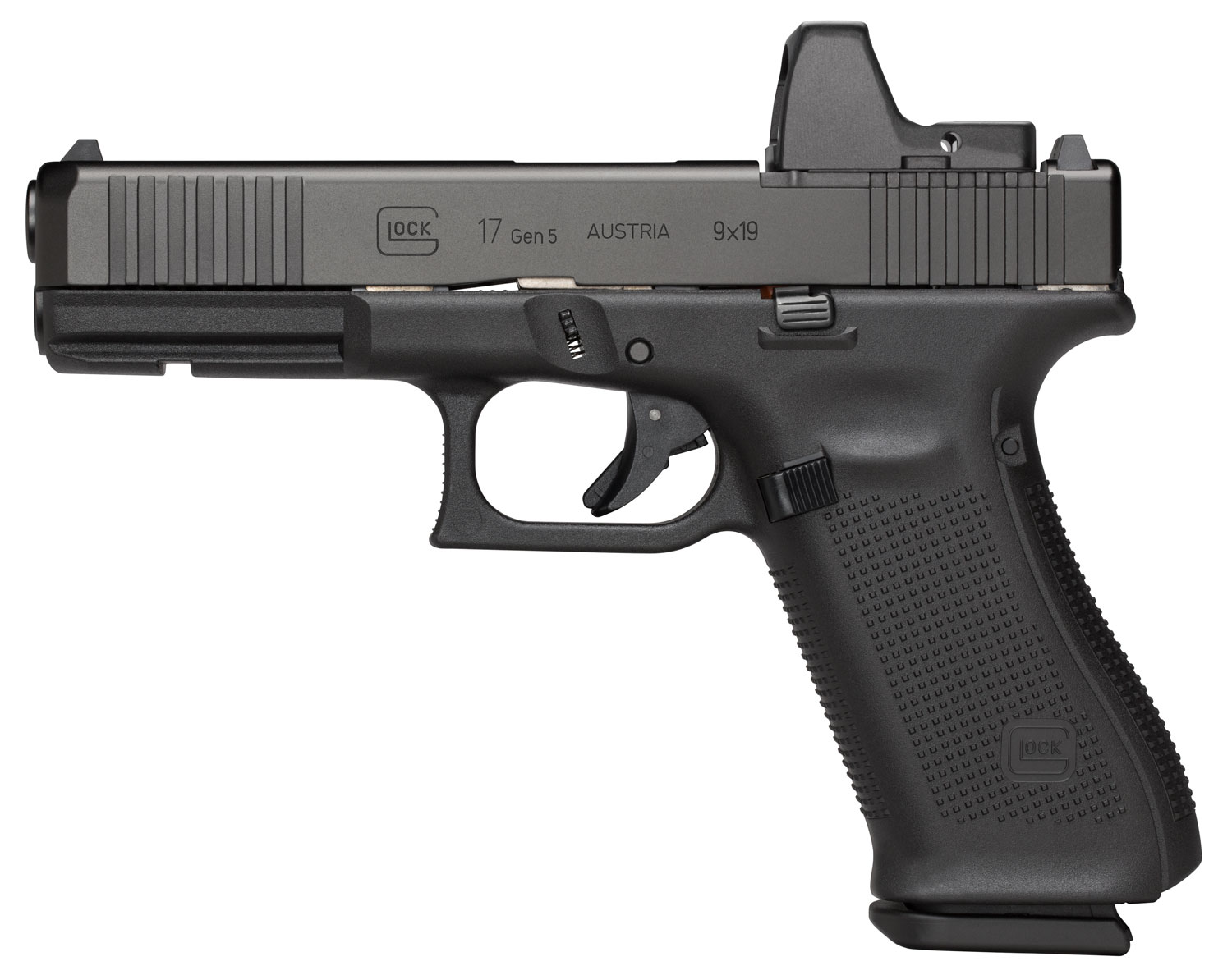 GLOCK PA175S201MOS G17 9MM G5 MOS FXD FS 10R