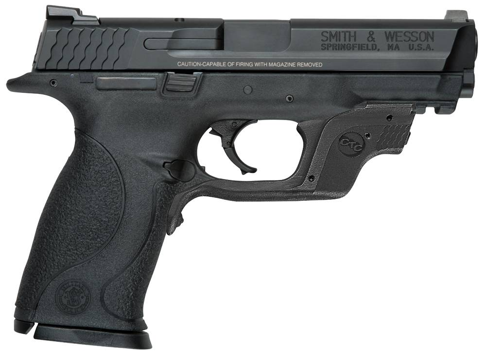 Smith & Wesson 10175 M&P 40 Crimson Trace Laserguard Green Double 40 Smith & Wesson (S&W) 4.25