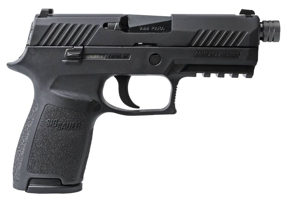 Sig Sauer 320C9BSSTB P320 Compact Double 9mm Luger 3.9
