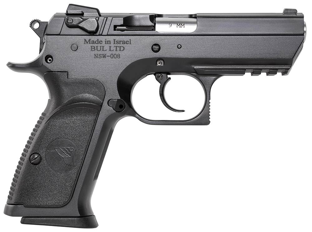 Magnum Research BE99003RS Baby Desert Eagle Single/Double 9mm 3.8