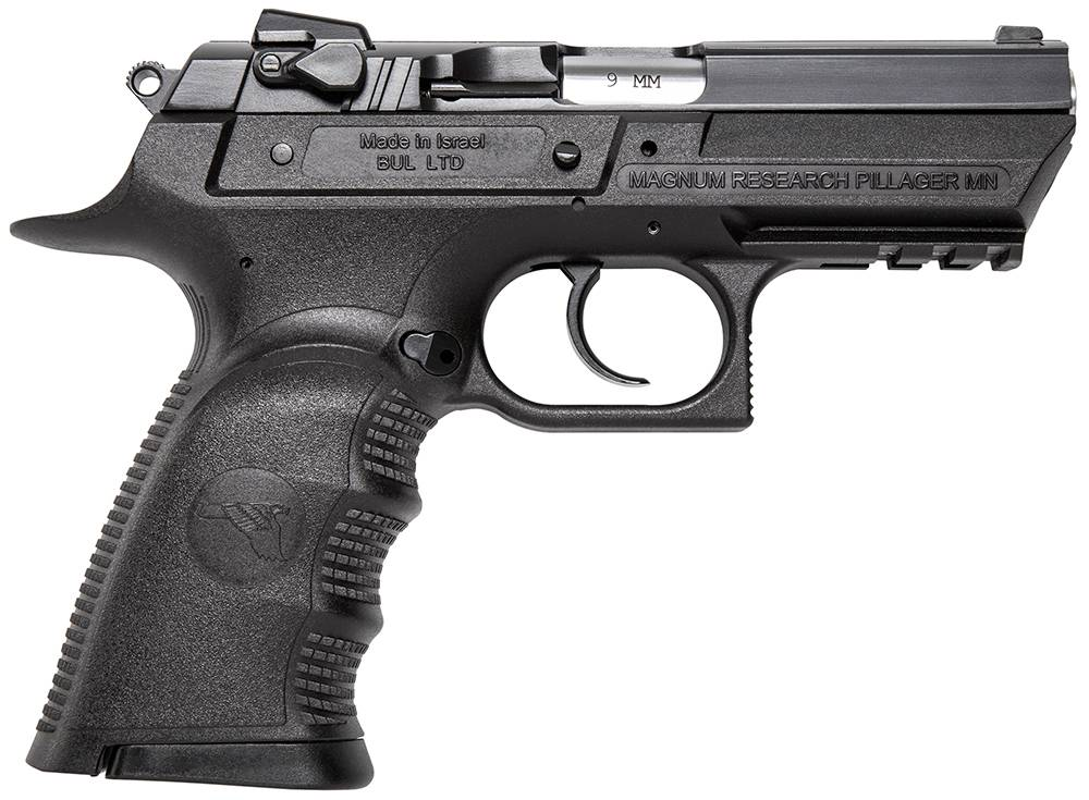 Magnum Research BE99153RSL Baby Desert Eagle Single/Double 9mm 3.8
