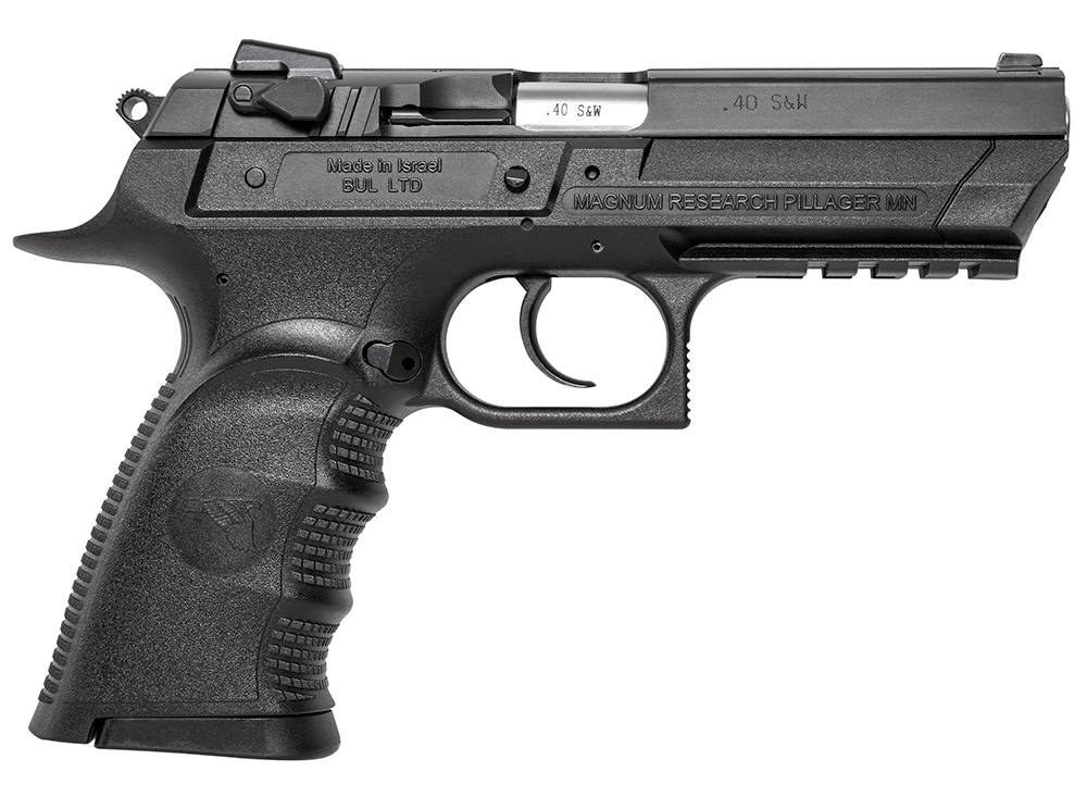 Magnum Research BE94133RL Baby Desert Eagle III Single/Double 40 Smith & Wesson (S&W) 4.4
