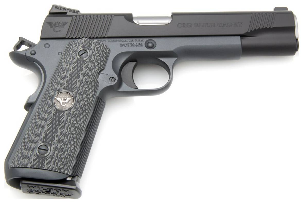 Wilson Combat CQBECFS9 1911 CQB Elite Carry Single 9mm Luger 5