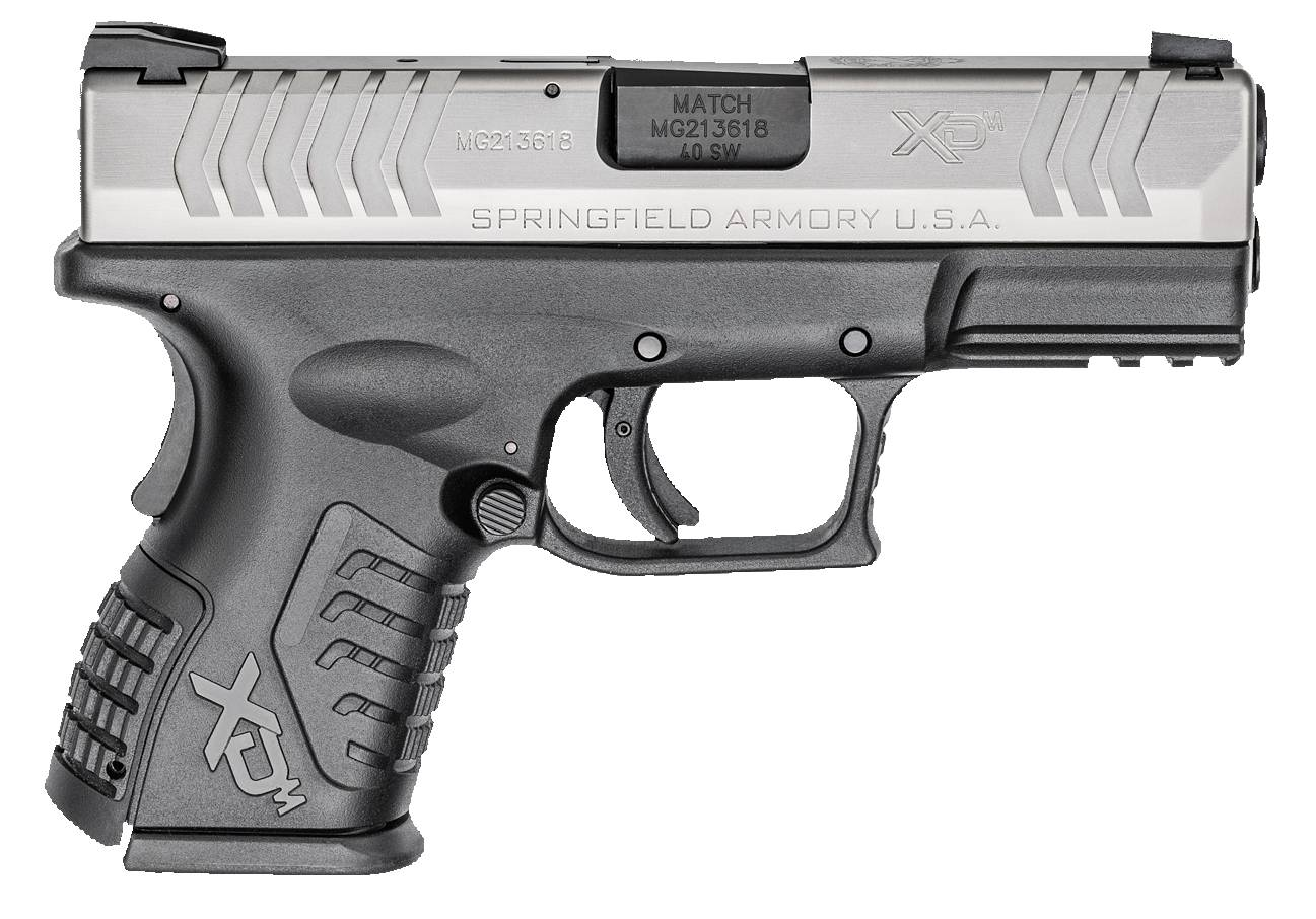 Springfield Armory XDM9384CSNJE XD(M) Compact Double 40 Smith & Wesson (S&W) 3.8