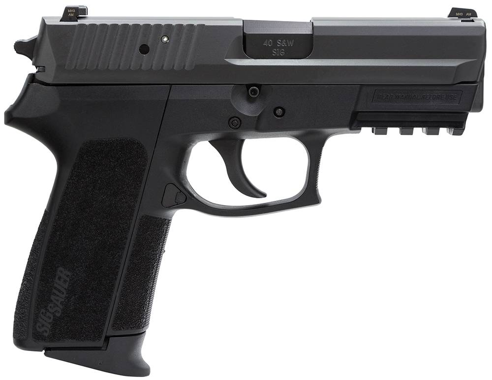 Sig Sauer SP20229B SP2022 Full Size Single/Double 9mm Luger 3.9