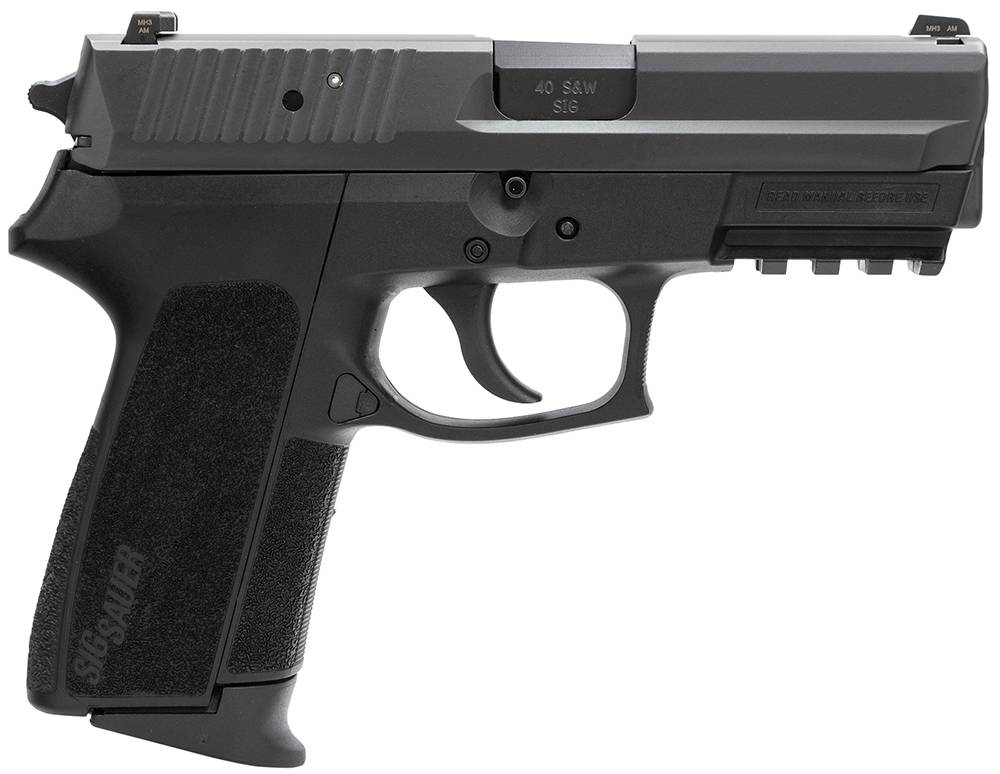 Sig Sauer SP20229BSS SP2022 Full Size Single/Double 9mm Luger 3.9