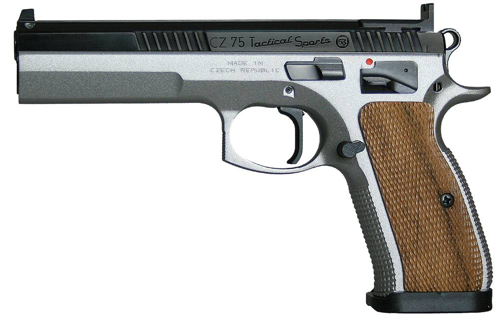 CZ 91172 CZ 75 Tactical Sport Single 9mm Luger 5.23