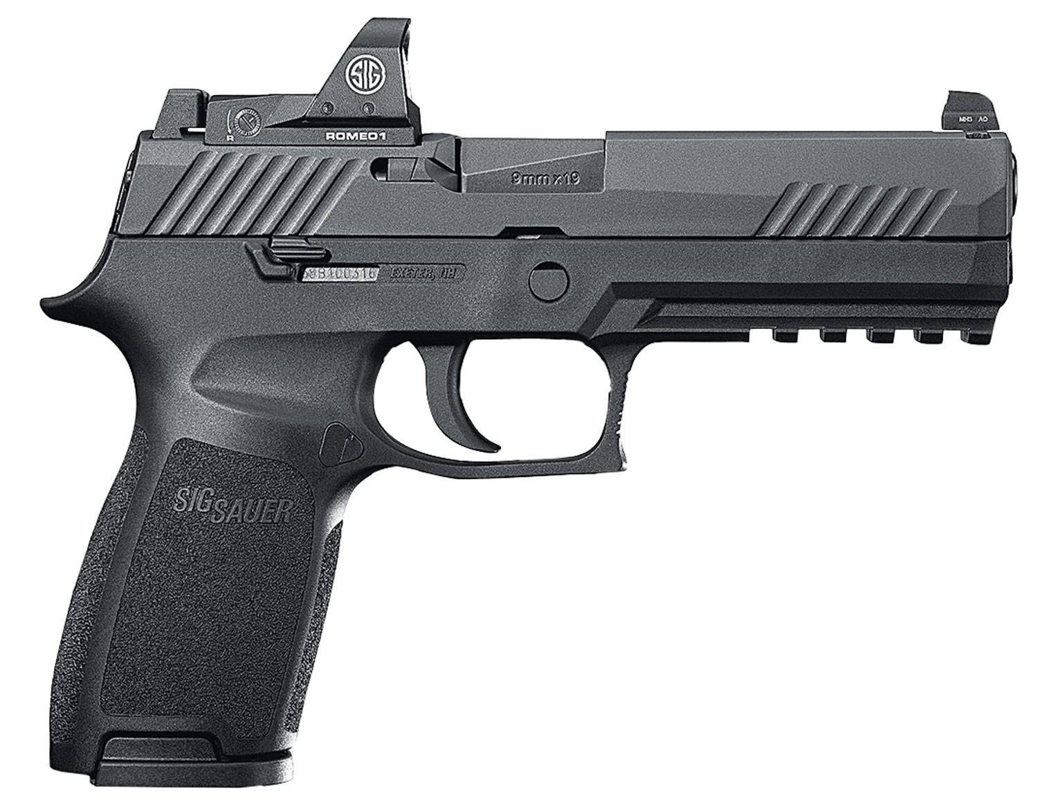 Sig Sauer 320F9BSSRX P320 Full Size RX Double 9mm Luger 4.7