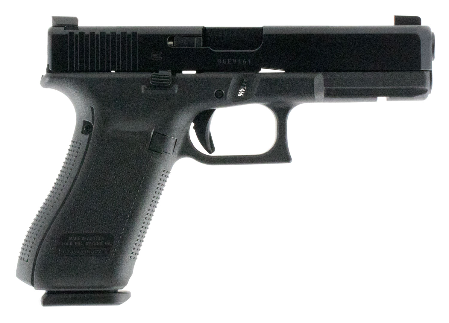 Glock PA175031AB G17 Gen5 Double 9mm Luger 4.49