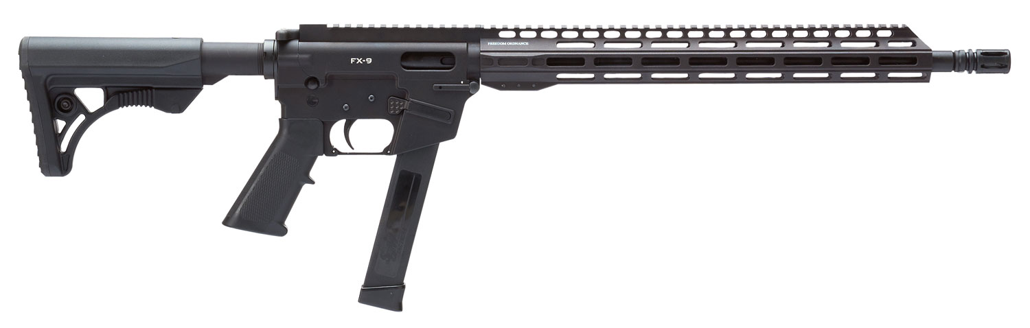 Freedom Ordnance FX9 FX-9 Carbine Semi-Automatic 9mm Luger 16