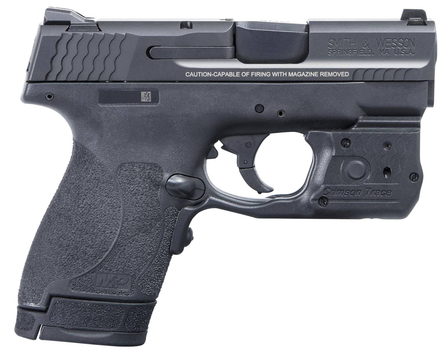 Smith & Wesson 11817 M&P 40 Shield M2.0 Laserguard Pro Double 40 Smith & Wesson (S&W) 3.1