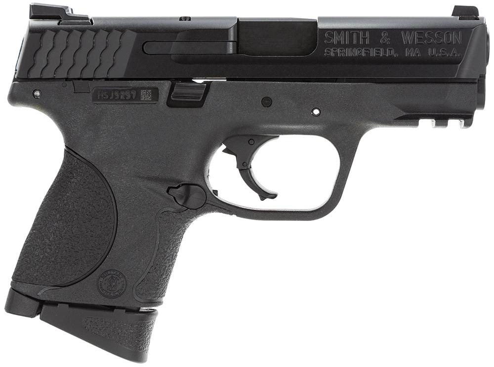 Smith & Wesson 109204 M&P 9 Compact Double 9mm Luger 3.5