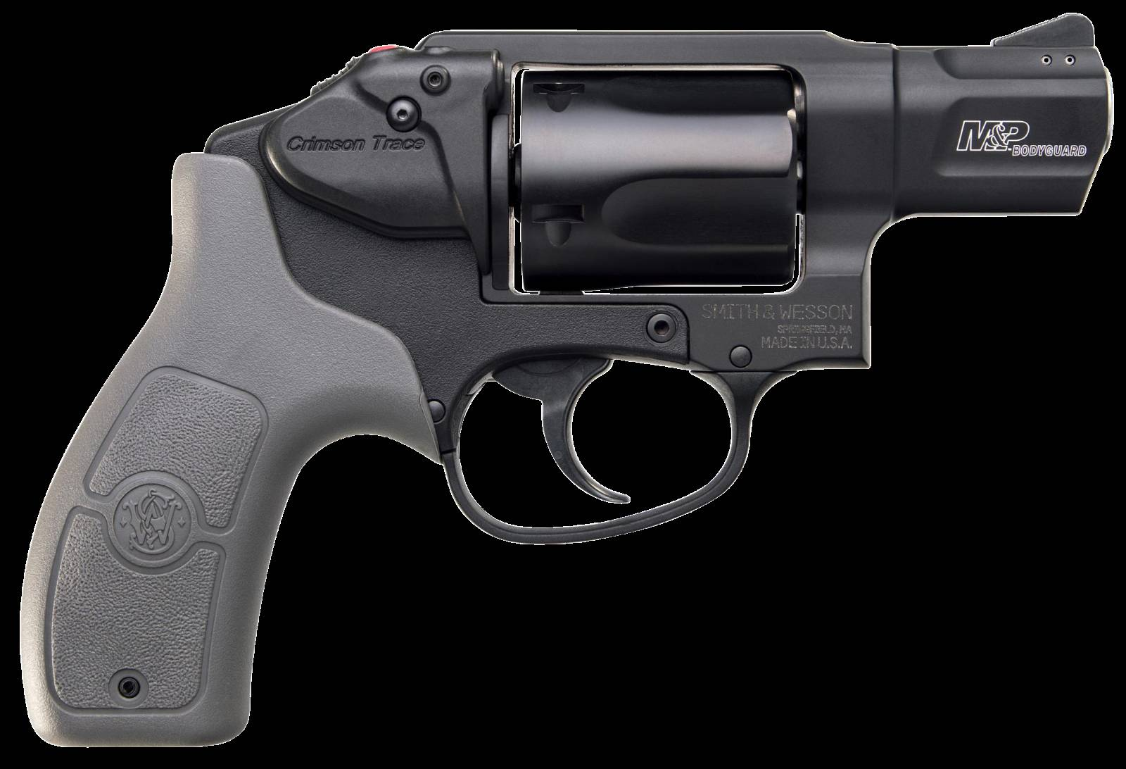 Smith & Wesson 12056 M&P Bodyguard 38 Crimson Trace  Revolver 38 Smith & Wesson Special +P 1.875