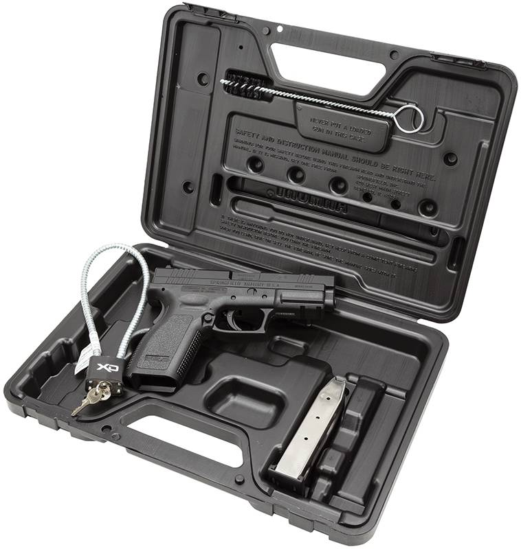 Springfield Armory XDD9101 XD Defender Service Model  9mm Luger Double 4