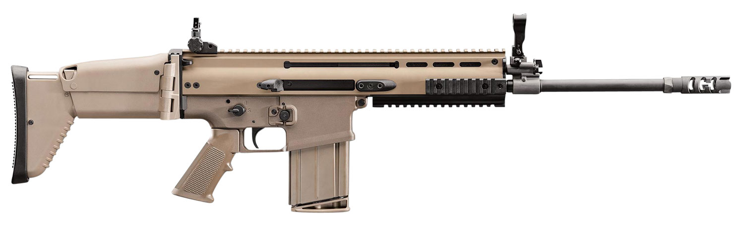 FN 986011 SCAR 16S American  Semi-Automatic 223 Remington/5.56 NATO 16