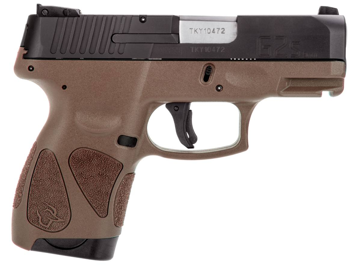 G2S 9MM BLK/BROWN 3.2 7+1